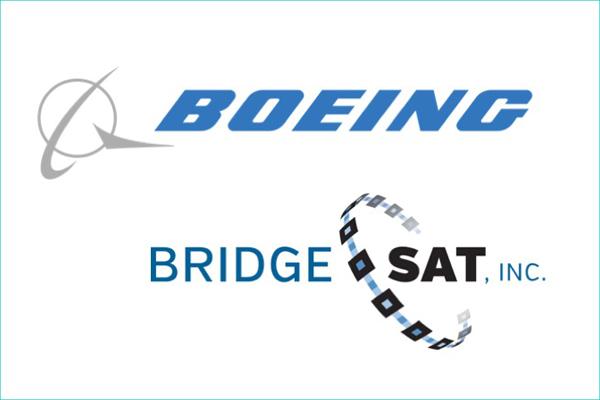 Boeing and Bridge Sat Logo